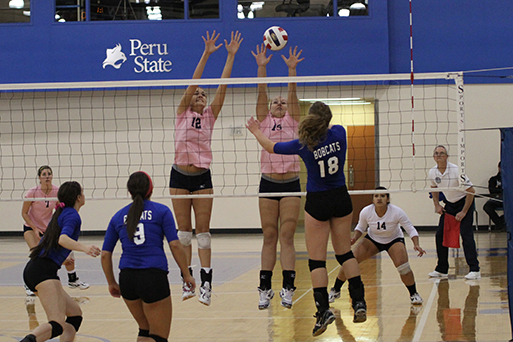 Volleyball Falls To Peru State In Straight Sets Graceland University