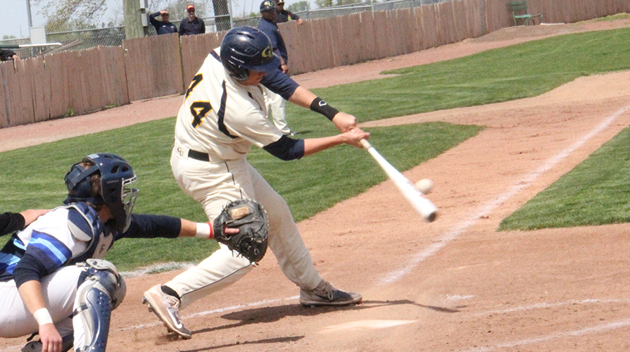 Photo for Graceland Drops First, Takes Second with Maxson's Walk-off Home Run