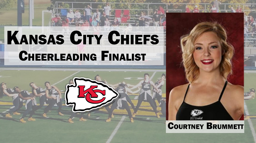 Photo for Brummett Placed as One of Top 60 Finalists in KC Cheerleading Tryouts