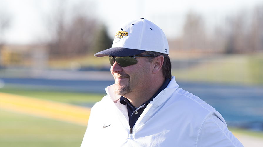 Photo for Football Coach Jeff Douglas Departs Graceland After 24 Years