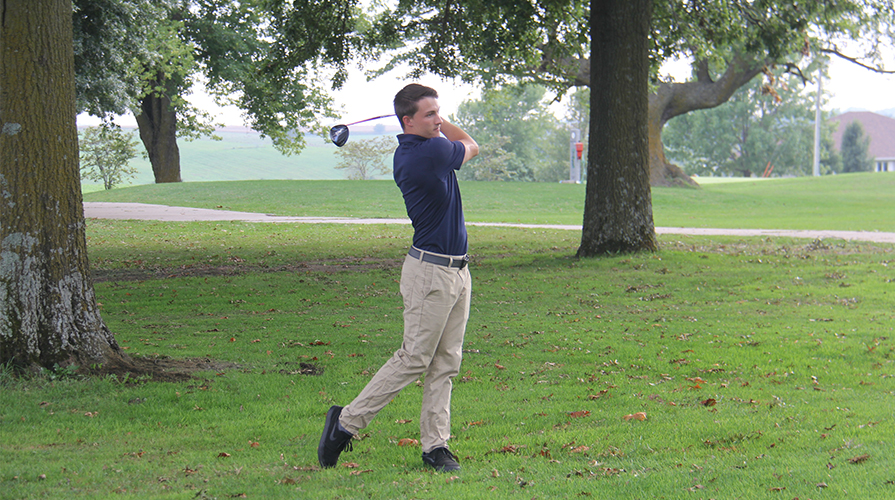 Photo for Men's Golf Finishes Sixth at Heart Championship
