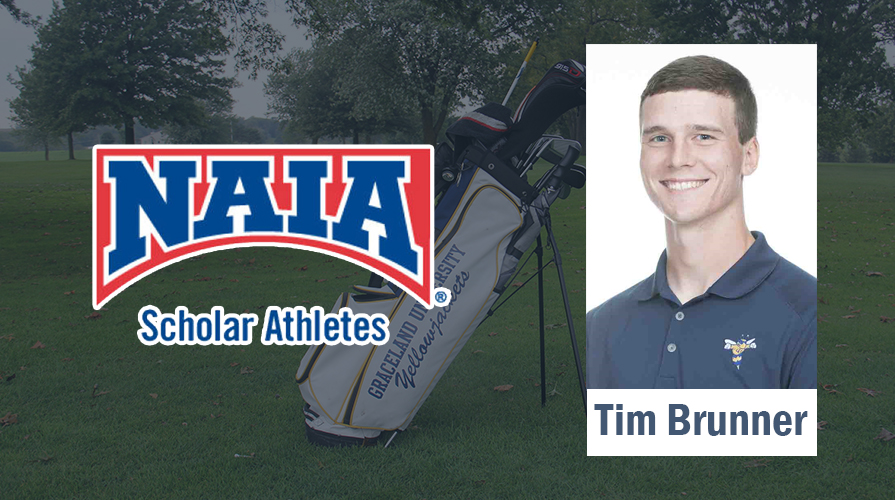 Photo for Brunner Named NAIA-Daktronics Scholar-Athlete
