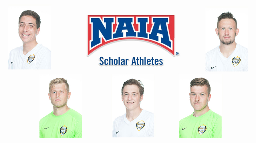 Photo for Five Men's Soccer Players Named Daktronics-NAIA Scholar Athletes