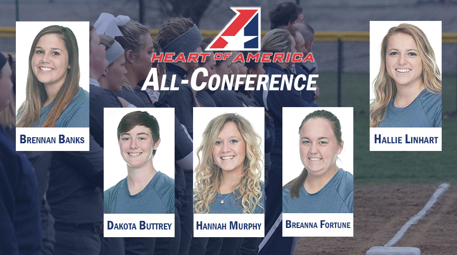 Photo for Five Softball Players Receive All-Conference Recognition