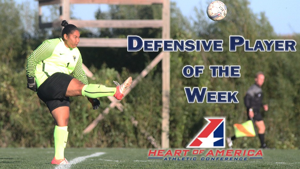 Photo for Siania Unutoa Named Heart Defensive Player of the Week