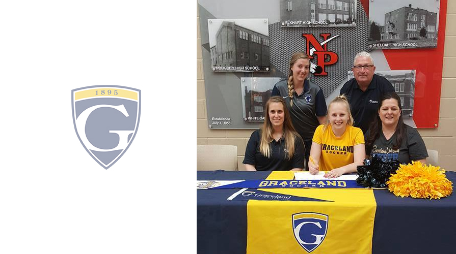 Photo for Cheyanne Chesley Inks with Cheer and Women's Soccer