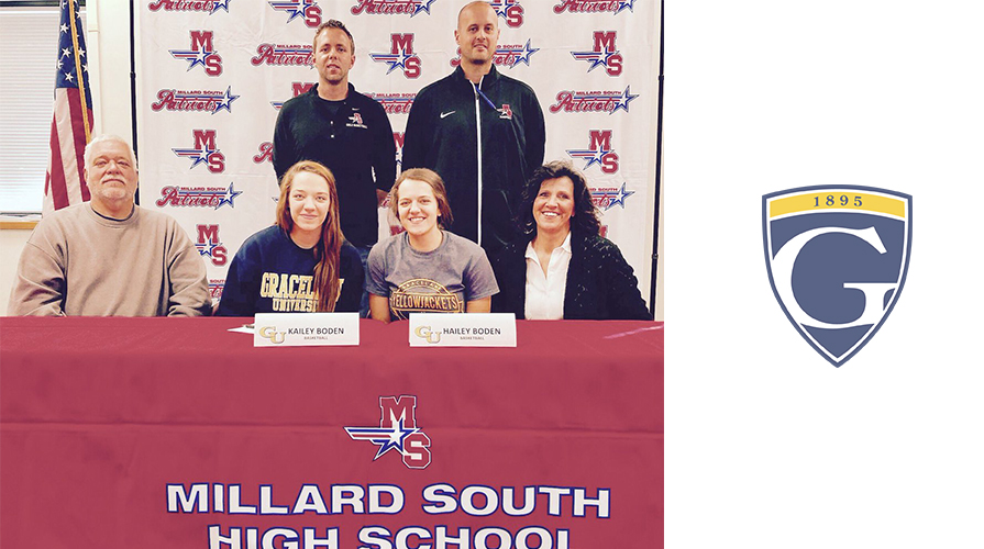 Photo for Women's Basketball Inks Twins, Hailey and Kailey Boden