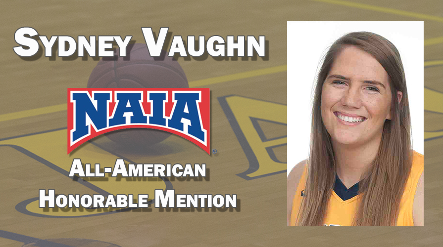 Photo for Vaughn Named NAIA Honorable Mention All-American