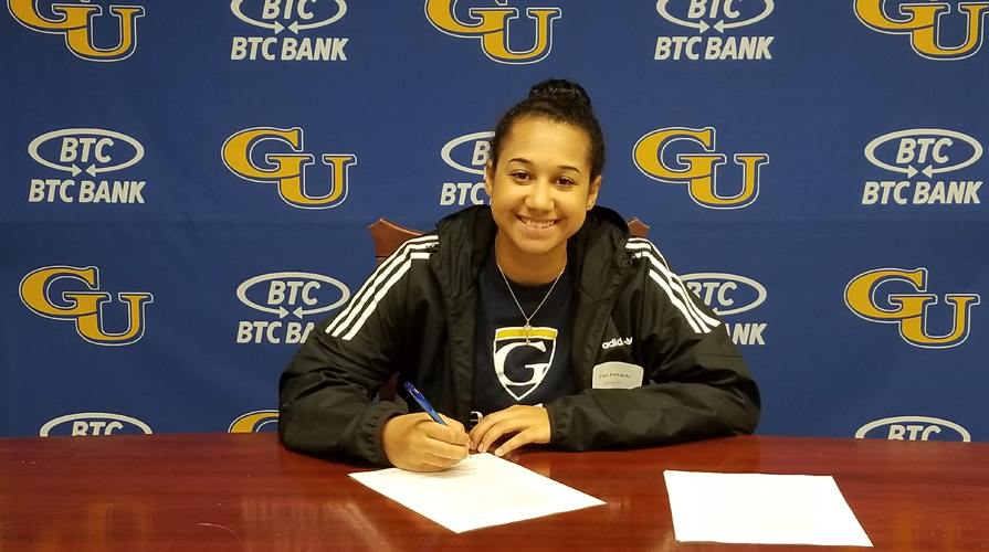 Photo for Women's Basketball Signs Tiara Edwards