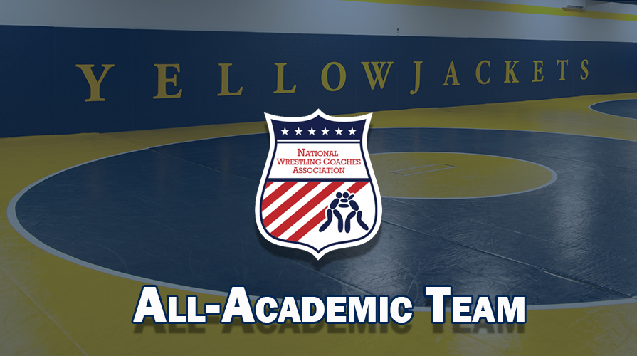 Photo for Wrestling Recognized by NWCA as Top 15 All-Academic Team