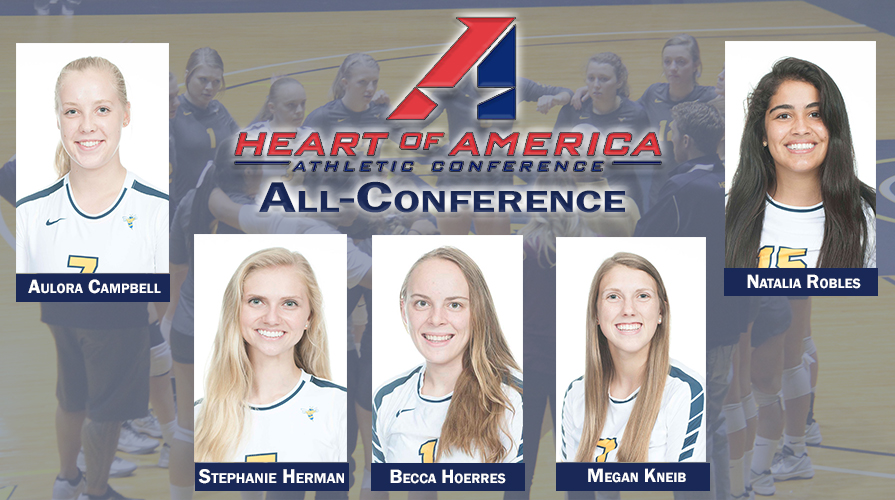 Photo for Five Earn All-Conference Accolades