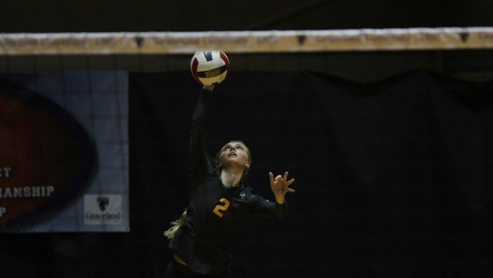 Photo for Volleyball Drops Straight Sets to Mount Mercy