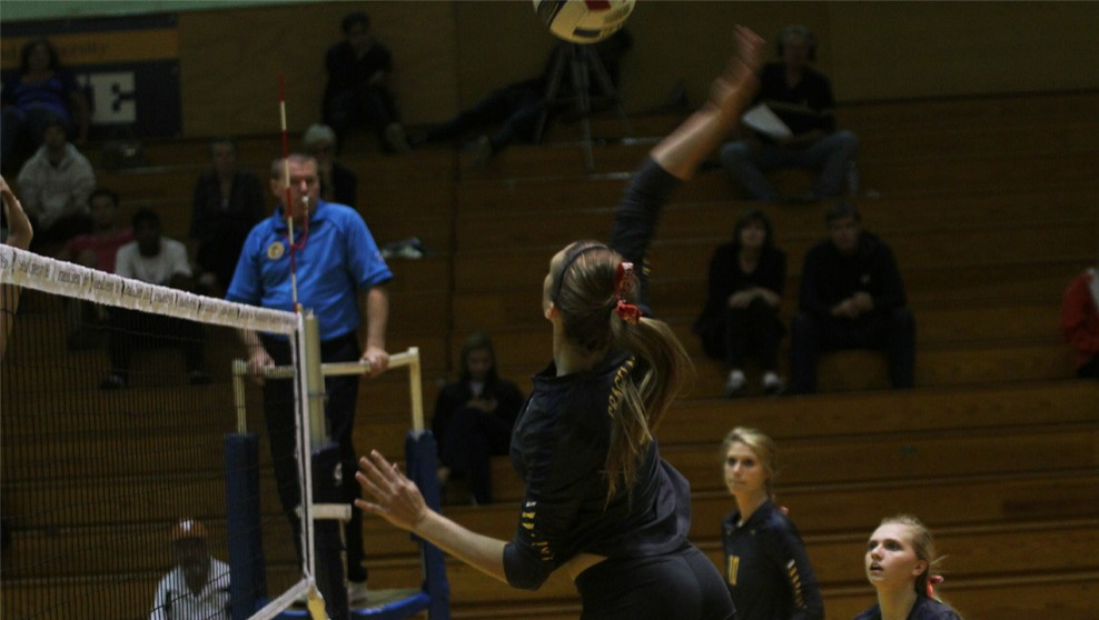 Photo for Volleyball Comes From Behind to Defeat Clarke