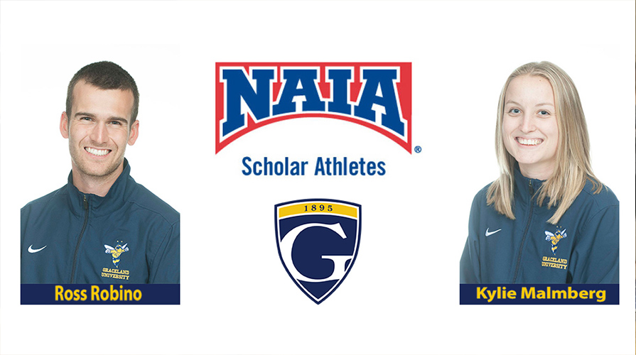 Photo for Robino and Malmberg Named Daktronics Scholar-Athletes