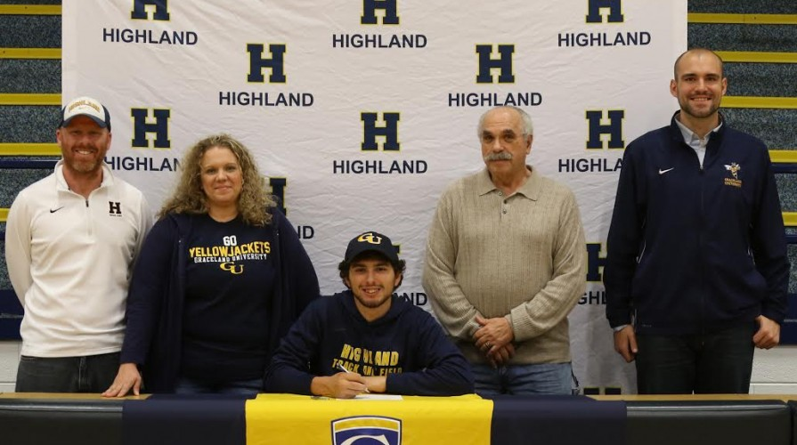 Photo for Jordan Adams Inks with Cross Country/Track and Field