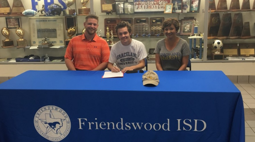 Photo for Baily West Inks with Wrestling