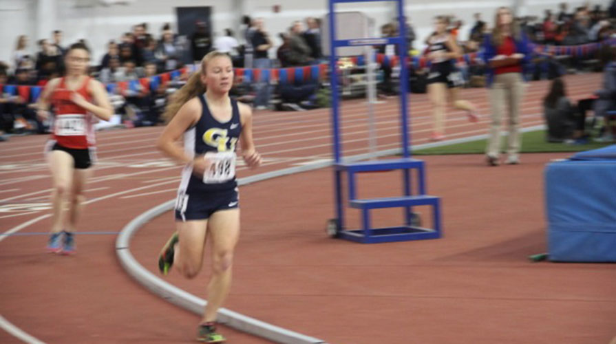 Photo for GU Indoor Track and Field Teams Finish Heart Championships