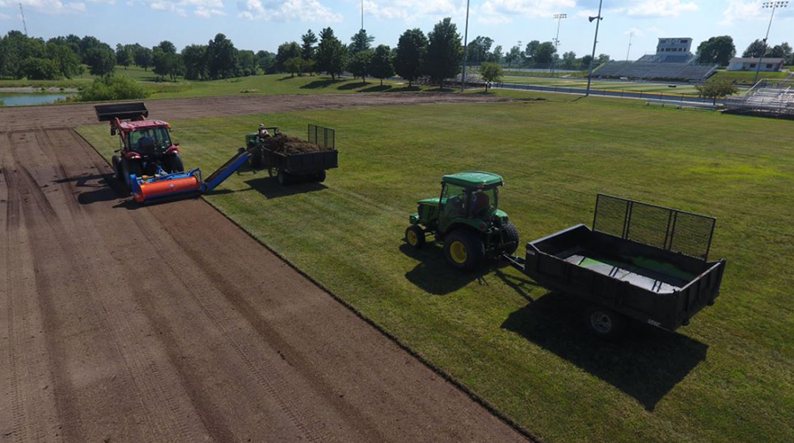 Photo for Renovation Begins on Rasmussen Field