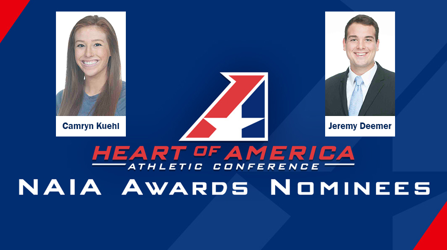 Photo for Kuehl and Deemer Among Heart NAIA National Award Nominees