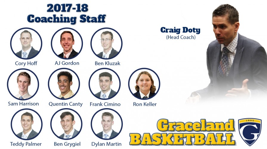 Photo for Doty completes men's basketball coaching staff