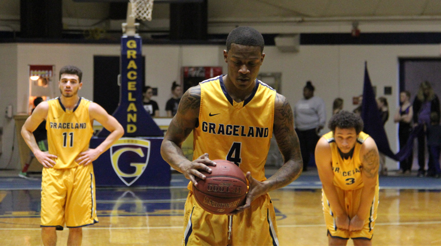 Photo for Graceland's RJ Williams signs contract with professional team in Germany