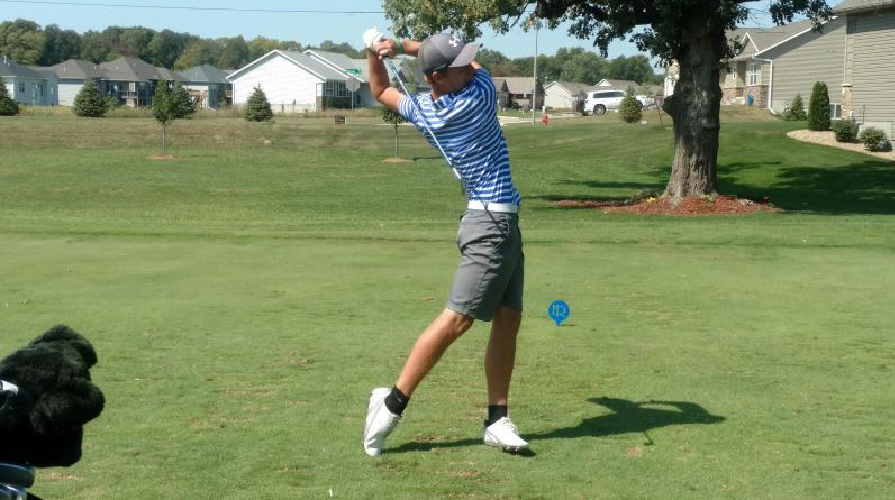 Photo for Graceland's Men's Golf Team Takes Second at the Close of Day One