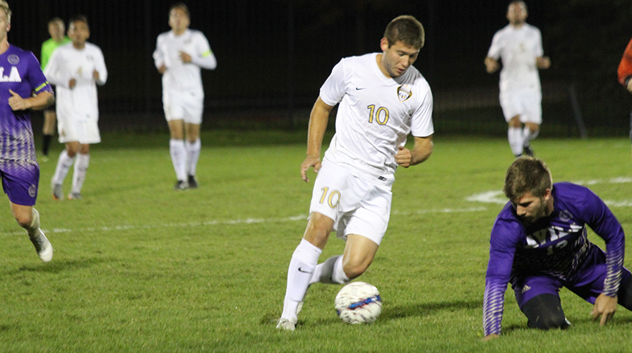 Photo for Men's Soccer Defeated On the Road by Mount Mercy