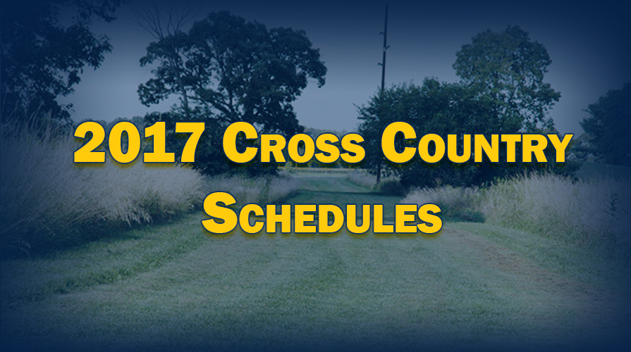 Photo for 2017 Men's and Women's Cross Country Schedule Released