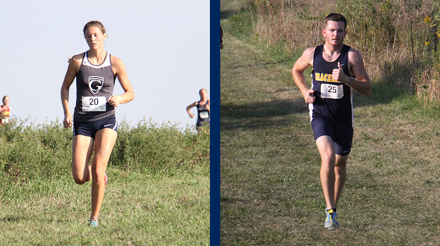 Photo for Tabor Leads Women's Cross Country to First Place Finish, Men Place Third