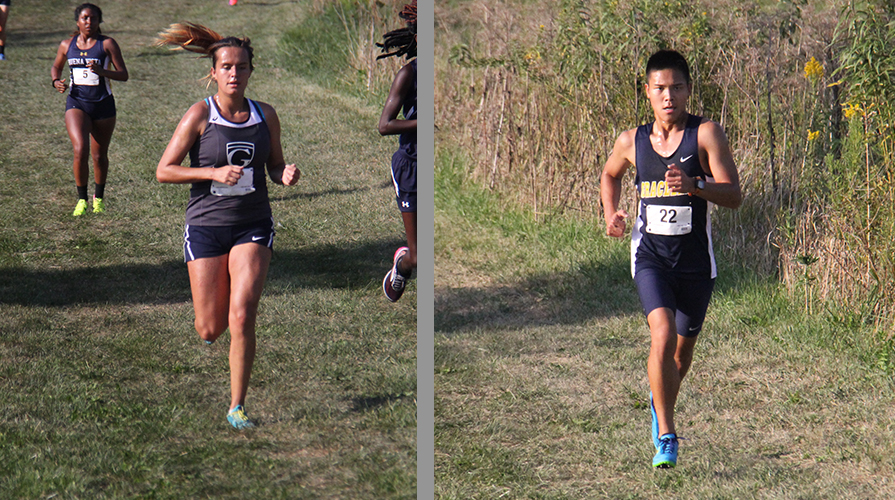 Photo for Tabor and Adams both secure the fastest times for Graceland at the BVU Cross Country Invite