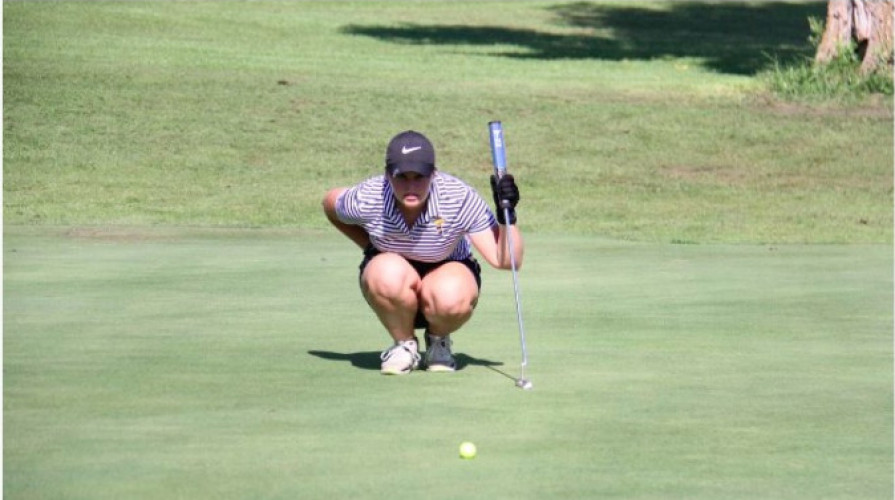 Jackets Women's Golfers Sit Sixth After Day One at