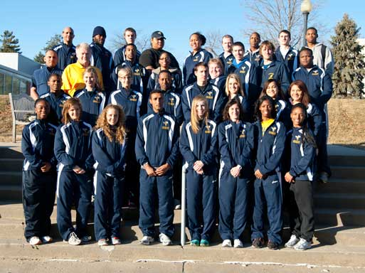 2011-12 Men's Track & Field Team Photo