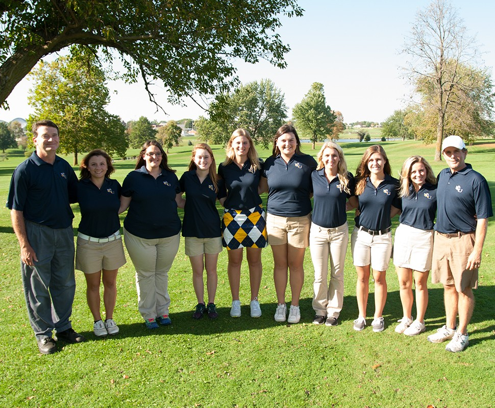 2015 Women's Golf Team Photo